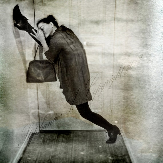 Fine Art Photography ''If u need a place to rest your head'' Whimsical Art Surreal Yoga Dance  vintage fashion Ballet Full Split