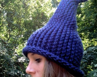 Elf / Gnome Hat Blue