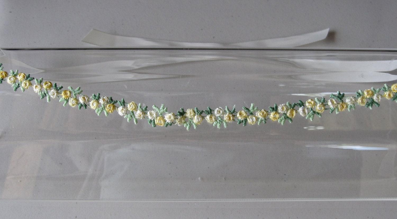 Headbands Turbans Halo I Tie Headband Black Yellow Flower Trim With Ivory Satin Ribbon Ties For Weddings Bridesmaid