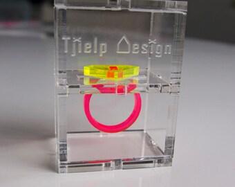 Custom made box for Diamond Ring