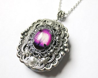 Victoria and a Violet Daze Ending: Silver Locket.Mother's Day gift