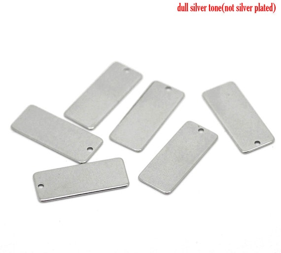 5 Stainless Steel Connector Stamping Tags MT003