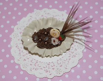 Oh La La  Yummy Brooch And Hair Accessories Delights -From Gitana's yummies New Collection