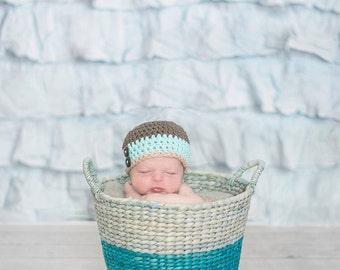 baby hat, baby boy hat, newborn hat, newborn boy hat, crochet baby hat