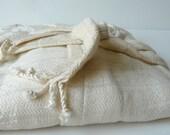 Peshtemal Robe Bamboo Robe Anti Bacterial Natural bamboo XL- L - M - S sizes with a Hood