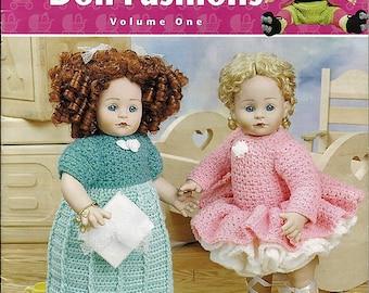 Fast & Fun Doll Fashions Volume One 19 Inch Doll Clothes Crochet Patterns Annies Attic 871911