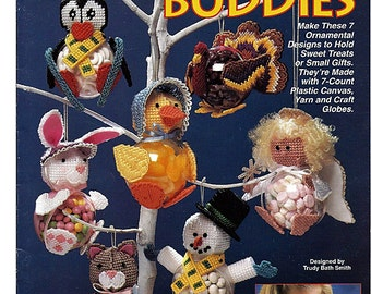 Candy Buddies Plastic Canvas Pattern Book  The Needlecraft Shop 923925