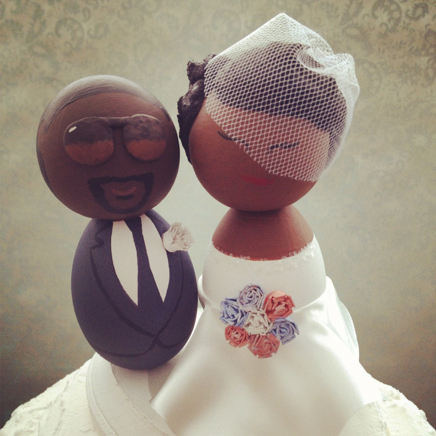 an american wedding cake custom american wedding cake topper every topper is 10747