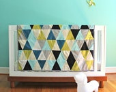 custom triangle quilt