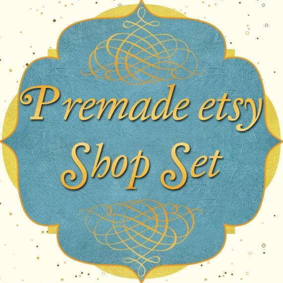 Premade Etsy Shop Image Set - Design 31 Morocco