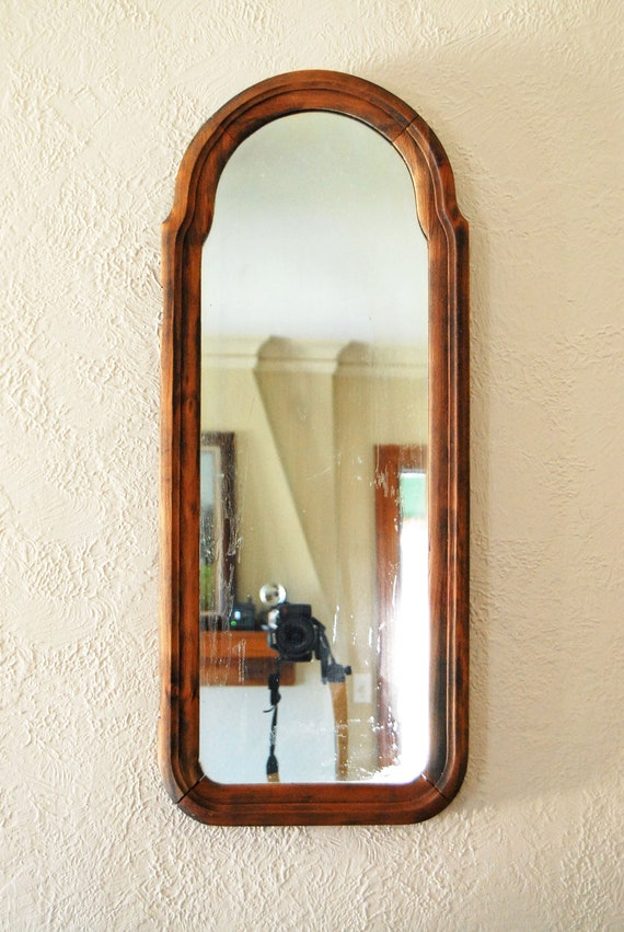 Vintage long mirror images for Long antique mirror
