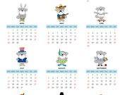 A Very Gary Calendar 2013 Refrigerator Magnet