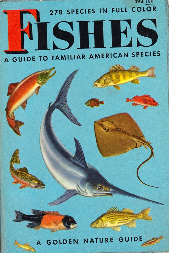Fishes - A Guide to Familiar American Species (A Golden Nature Guide)