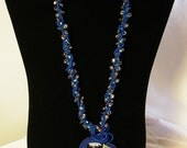 Peacock Necklace  On sale was 250.00 now 180.00