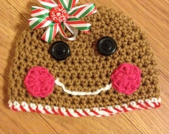 Gingerbread hat newborn to adult