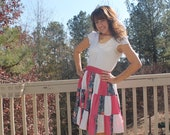 Vintage 80s Square Dance Skirt
