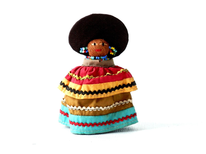 Vintage Seminole Indian Doll American Indian