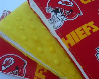 Kansas City Chiefs Burp Cloths (Set of 3)