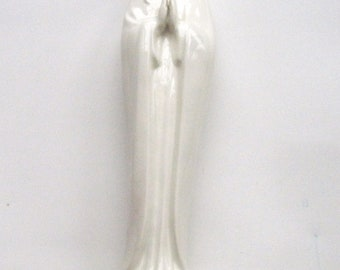 MI Hummel Madonna Figurine All White HM58 2/0 Western Germany Early 60s