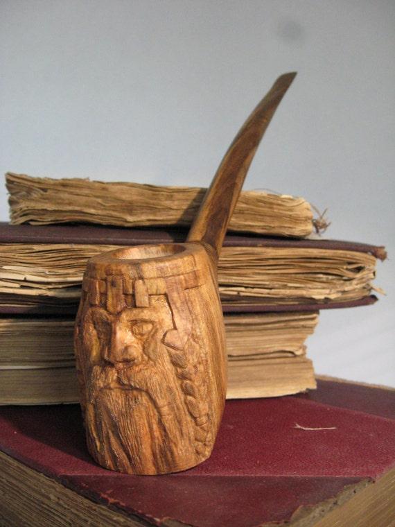 Handmade dwarf gandalf hobbit fantasy pipe