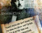 William Faulkner Poster