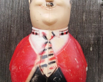 Oliver Hardy Roly Poly Chime Toy