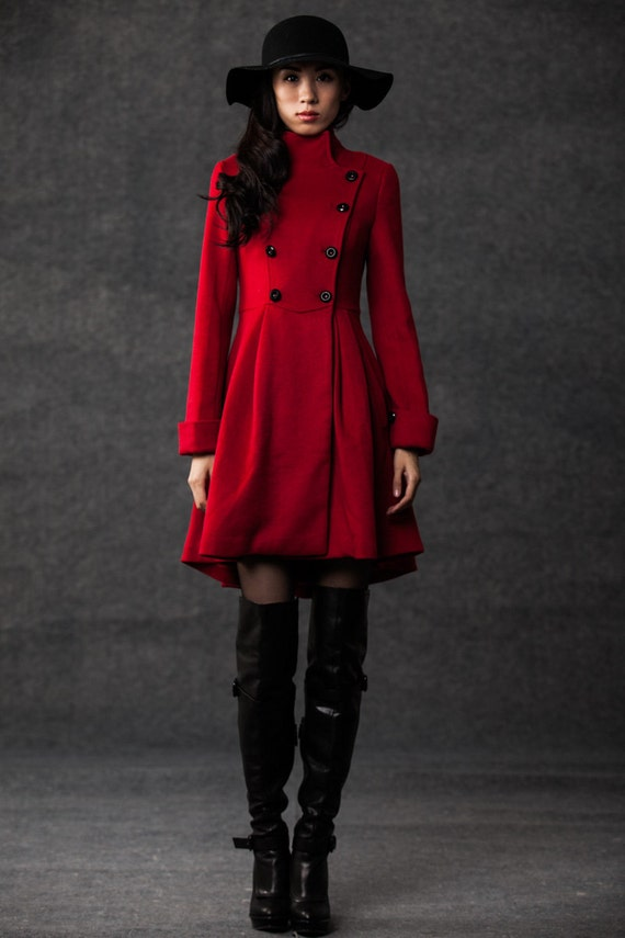 Fit And Flare Winter Coat - Tradingbasis