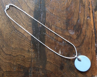 Made to order satin cord necklace 50cm with gold or silver snap clasp
