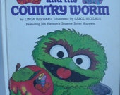 The City Worm and The Country Worm Sesame Street Vintage Children's Book