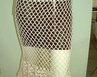 Scalloped Edge Skirt