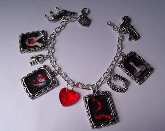 Twilight Book Inspired Charm Bracelet