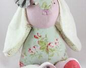 Personalized Memory Bunny Custom Stuffed Rabbit Berevement Gift Baby Memory Keepsake Memory Animal Stuffed Animal Personalized Baby Keepsake