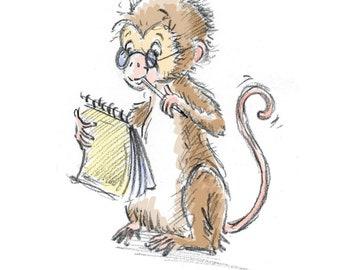 Writing Monkey