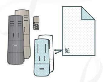 Stroller liner pattern: Explore stroller liner PDF pattern & blanket tutorial