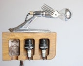 Reserved for Michelle. Let me tell you a story. Handcrafted, vintage industrial desk lamp