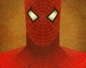 Minimal Heroes: Spider-Man print
