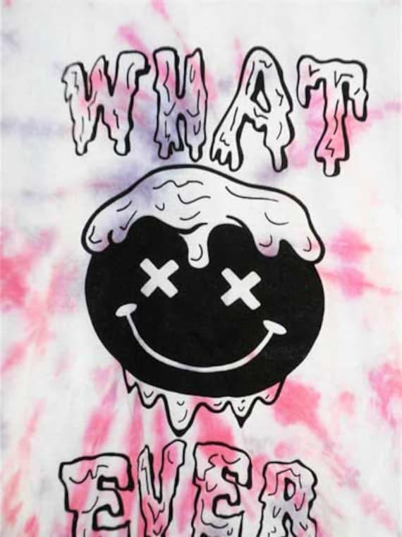 drippy grunge whatever tie dye unisex shirt