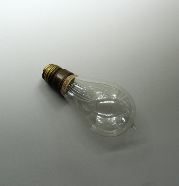 Original Packard Light Bulb Early Electric Light By Theorangehorse