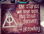 8x10 Harry Potter Quote