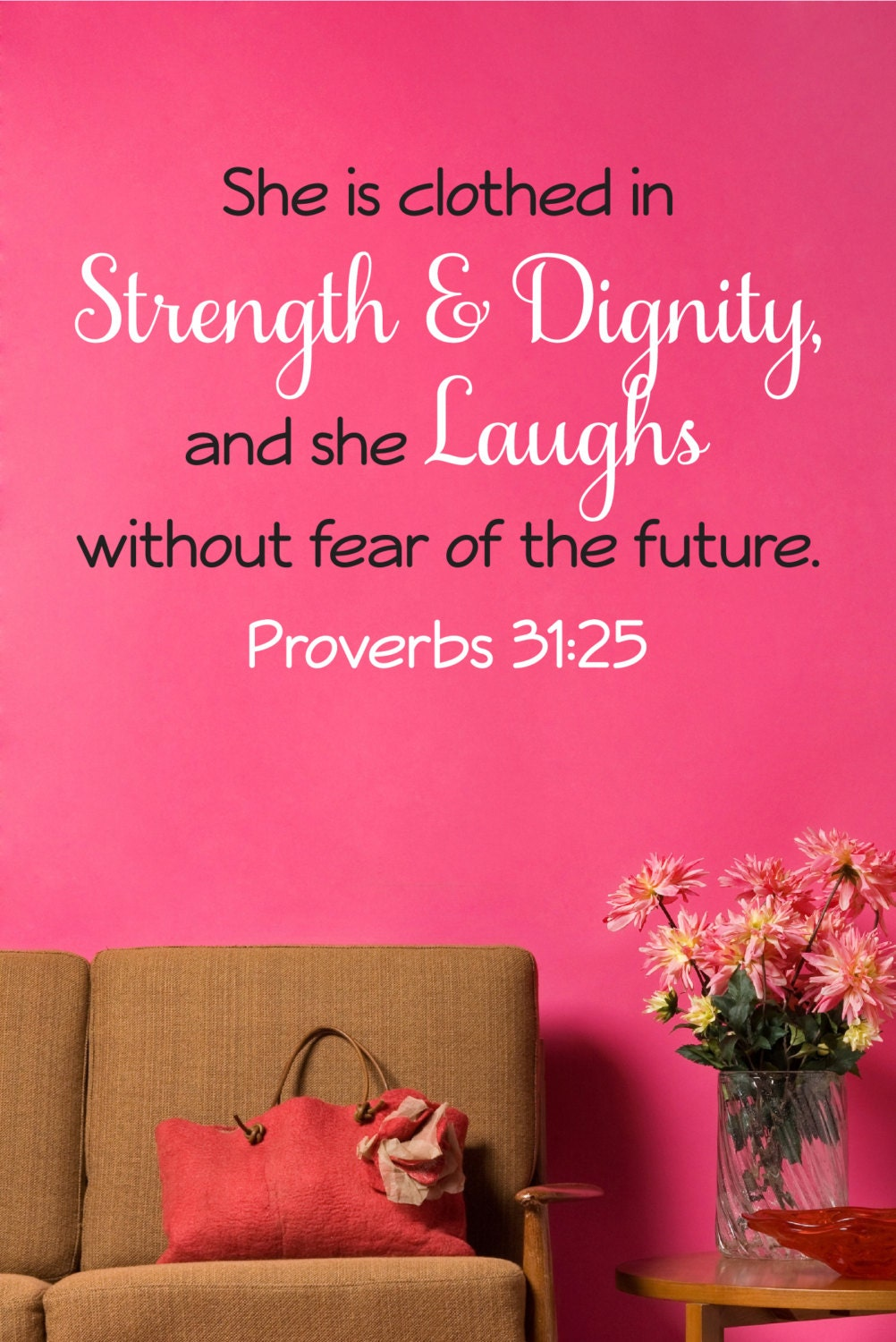 bible quote decals wall decal wall vinyl vinyl decal. Black Bedroom Furniture Sets. Home Design Ideas