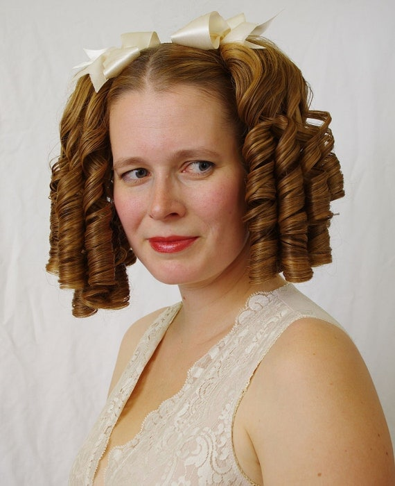 Wedding Hairstyle Ringlets