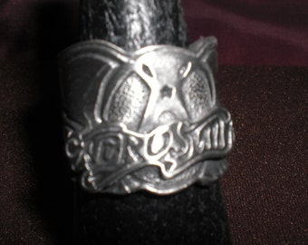 aerosmith,rock and roll , biker ring  will-size