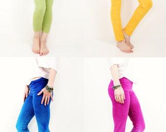 PLUS SIZE - CUSTOM Dyed Ombre Athletic Leggings - Yoga Pants