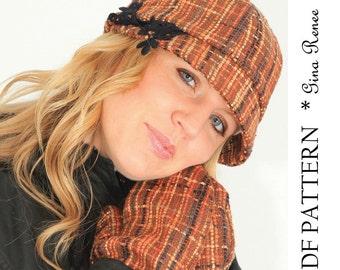Twist Headband Sewing Pattern Ear Warmer By Ginareneedesigns