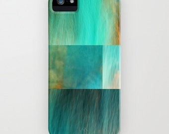 iPhone Case - 5 5s 5c  4 4s 3g 3gs iPod touch Samsung S4 - Fantasy Ocean Collage - abstract photography - collage - blue - turquoise - aqua