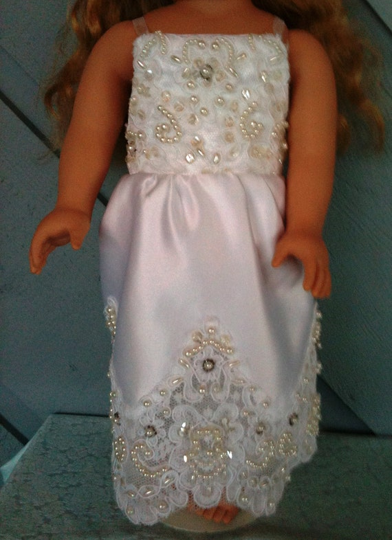 American girl doll wedding dress for American girl wedding dress