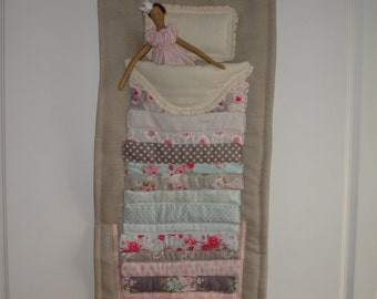 MADE TO ORDER - Tilda Princess and the Pea Wall Hanging