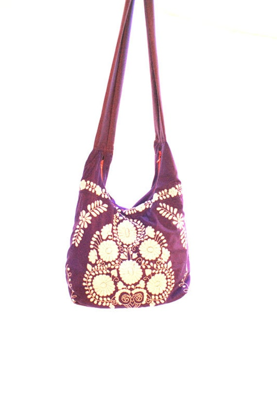 Pais de las maravillas mexican bag hand by aidacoronado on