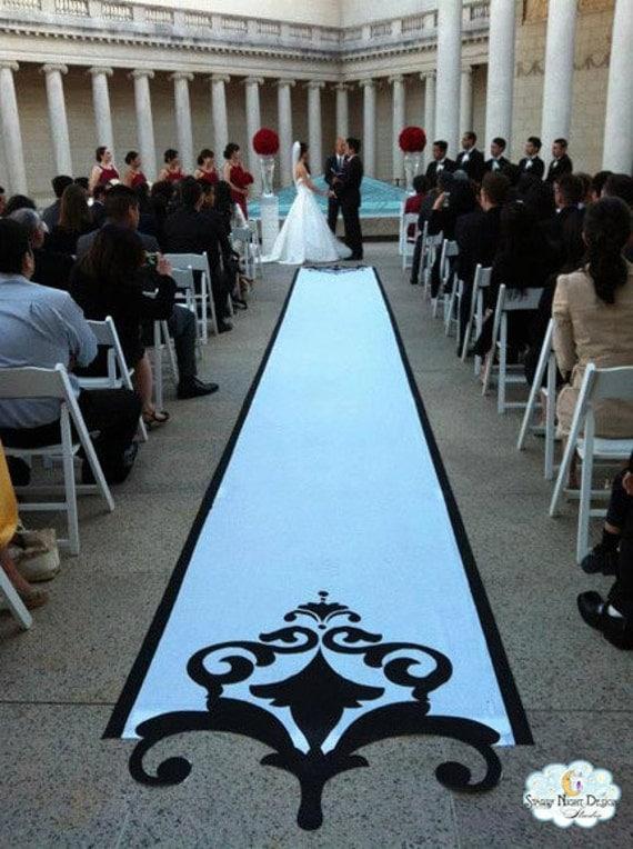 Aisle Runner Wedding Aisle Runner Custom Aisle Runner