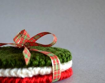 Crochet Coasters, Coasters, Coaster Set, Drink Coasters, Crochet Ornaments, Crochet Gifts, Clearance Sale, Sale Items